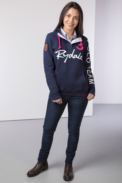 Navy - Ladies Polo Club Sweatshirt