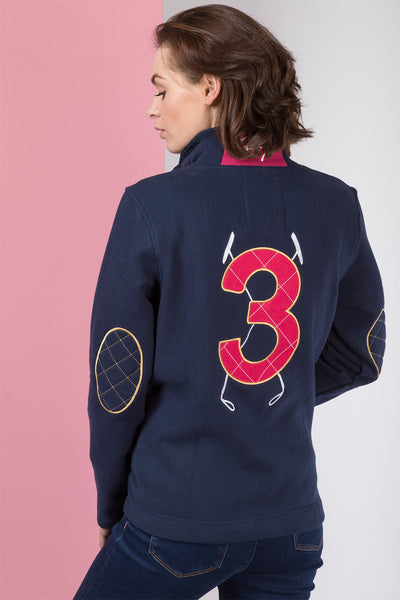 Navy - Polo Club Sweatshirt