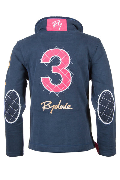 Navy - Kids Blue & Red Rydale Sweatshirt