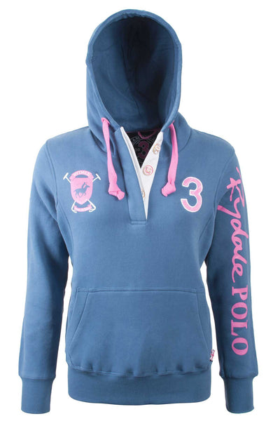 JBlue - Rydale Button Neck Polo Hoody