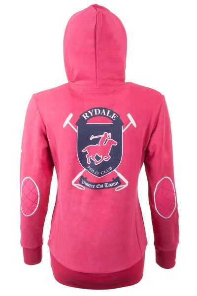 Ruby - Womens Polo Crest Hooded Sweatshirt