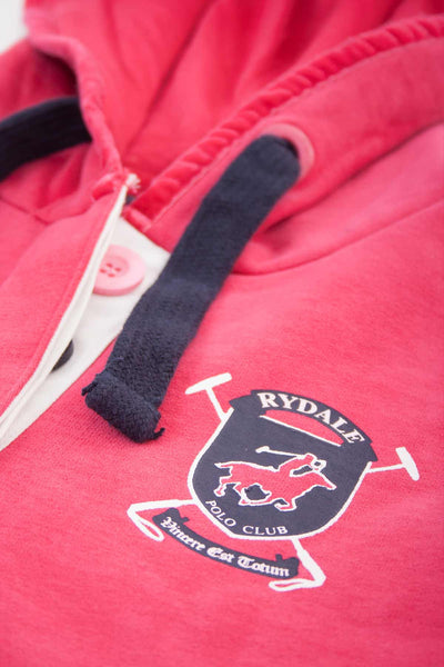 Ruby - Womens Polo Club Style Hoodies