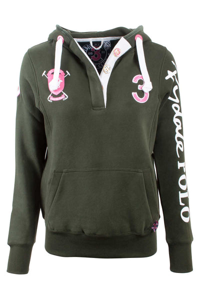 Olive - Rydale Polo Club Hoody
