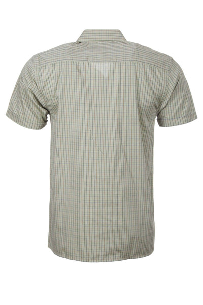 Poacher Olive - Short Sleeved Country Check Shirts