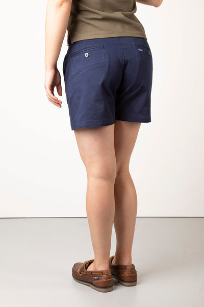 Navy - Ladies Portia Shorts II