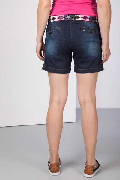 Navy Denim - Ladies Portia Shorts II
