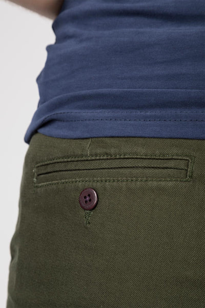 Dark Olive - Ladies Portia Shorts