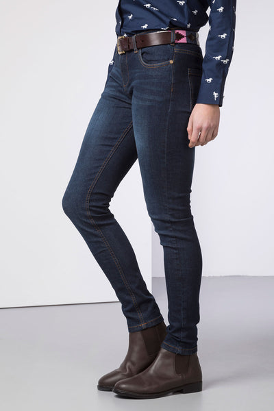 Navy Denim - Ladies Portia Skinny Jeans