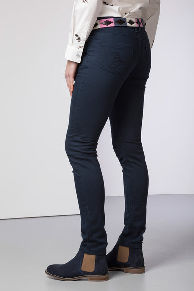 Navy - Ladies Portia Skinny Jeans