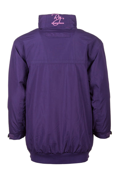 Purple - Girls Hooded Jacket
