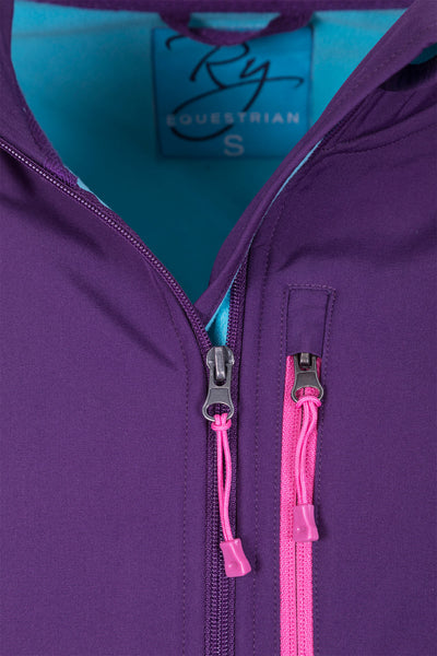 Purple - Ladies Haxby Softshell Jacket