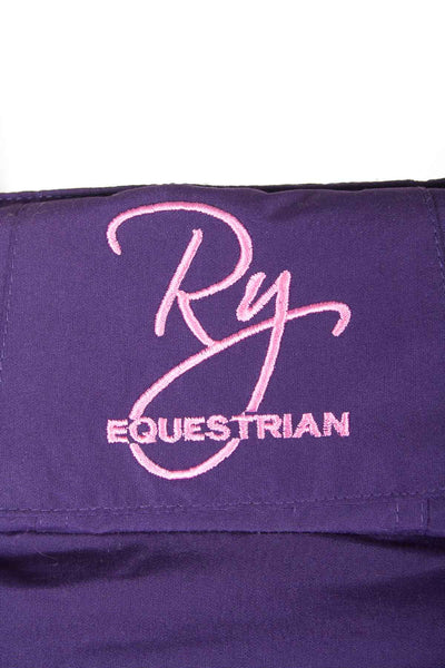 Purple - Girls British Design Riding Jacket
