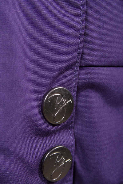 Purple - Girls Classic Hooded Horse Riding Jacket