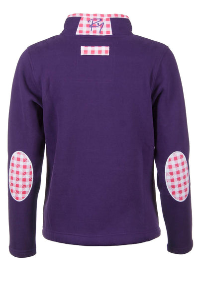 Dark Purple - Rydale Ladies Sweatshirt