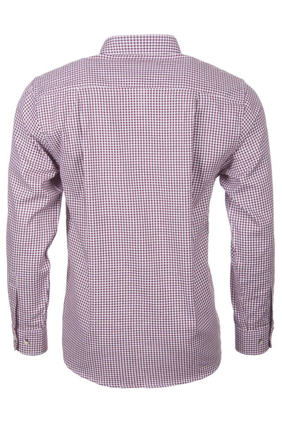 Red Gingham - Mens Country Checked Shirts