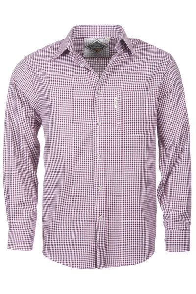 Red Gingham - Mens Kirkburn Shooting Shirts