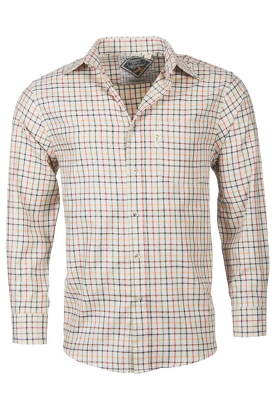 Red Mix - Mens Rydale Cotton Shirtz