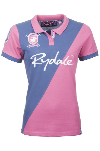 Candy / Jblue - Rydale Ladies Richmond Polo Shirt