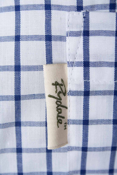 Richmond Navy/white - Mens Rydale Short Sleeved Shirt