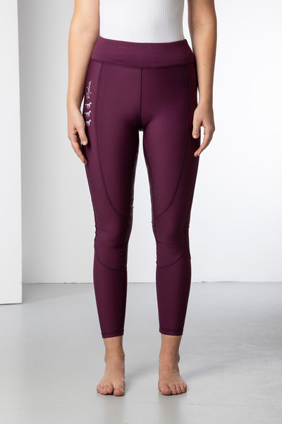 Berry - Ladies Riding Tights