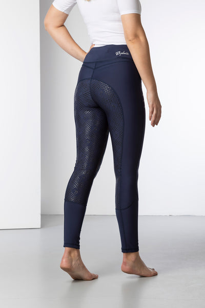 Navy - Ladies Riding Tights