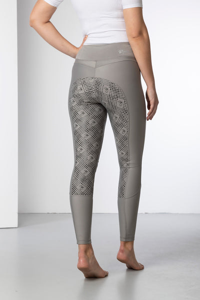 Silver - Ladies Riding Tights