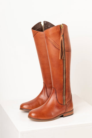 Rievaulx Leather Spanish Riding Boots
