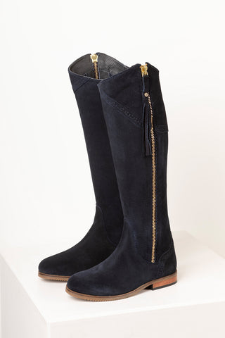 Rievaulx Suede Spanish Riding Boots