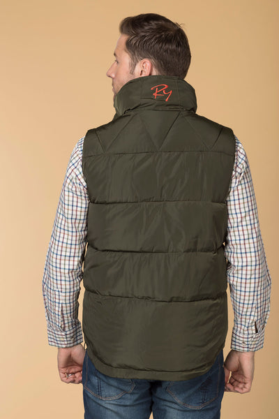 Olive - Rydale Ripley Padded Gilet