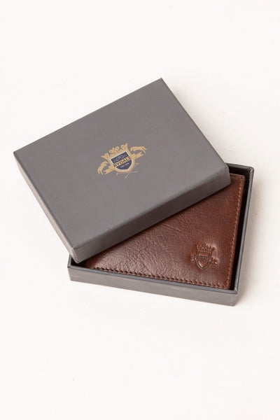 Ripley Leather Tri-Fold Wallet