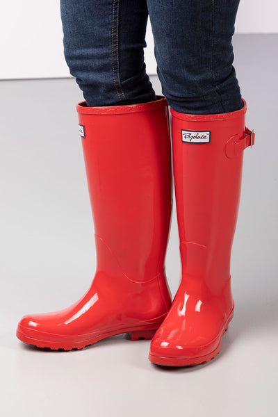 Rose - Ladies Ripon II High Gloss Wellies