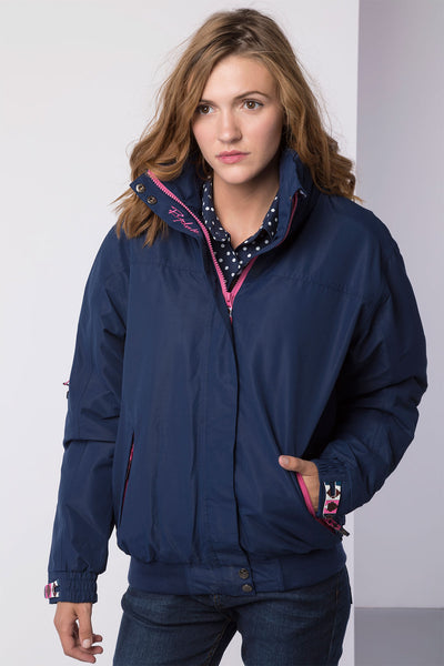 Navy - Ripon II Polo Jacket