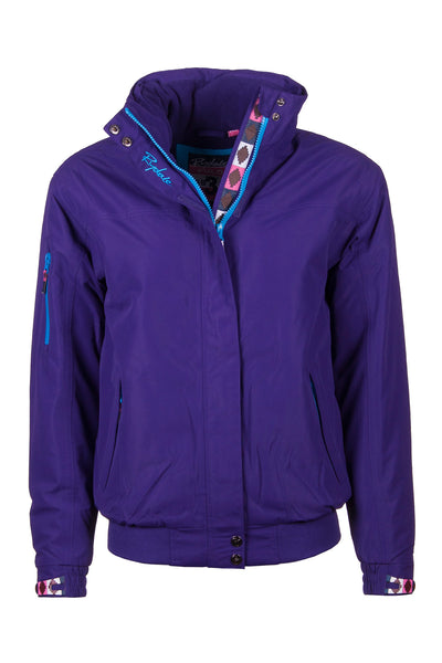 Purple - Ripon II Polo Jacket