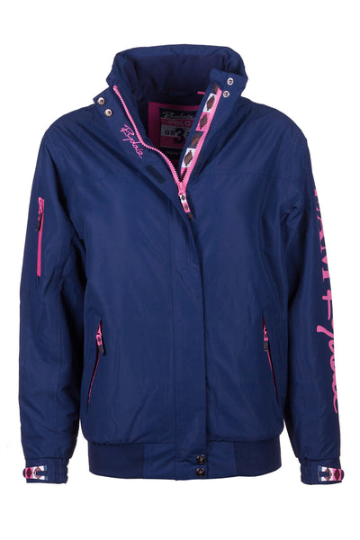 Navy - Ripon II Polo Jacket Sleeve