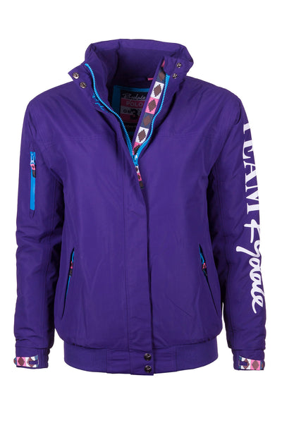 Purple - Ripon II Polo Jacket Sleeve