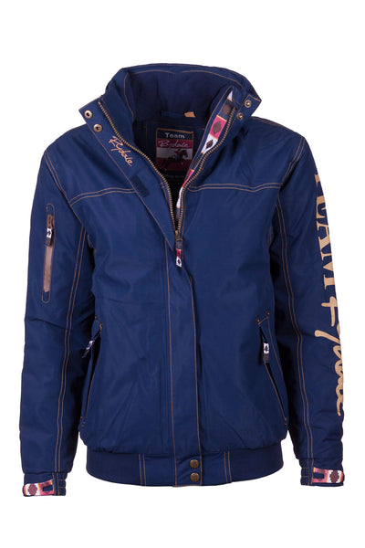 Navy - Ripon II Team Rydale Jacket Sleeve