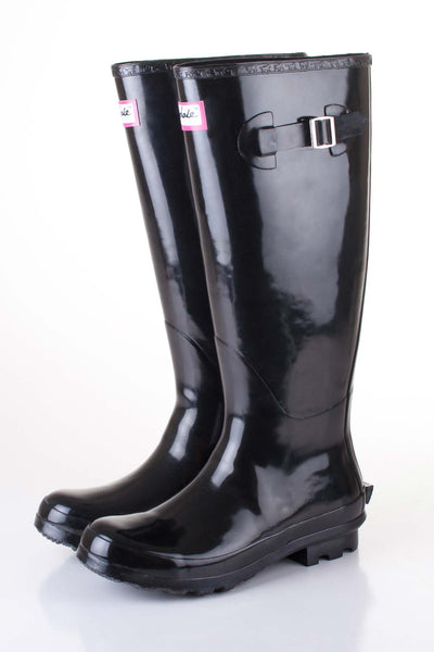 Black - Ladies Rydale Ripon wellies