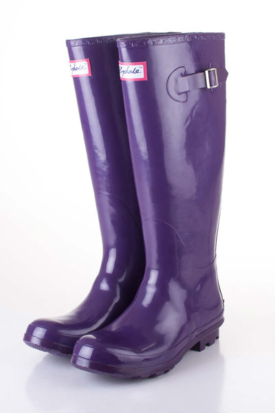 Damson - Ladies Purple Ripon wellies