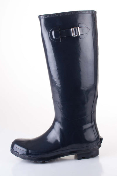 Navy - Blue Ladies Festival Wellies