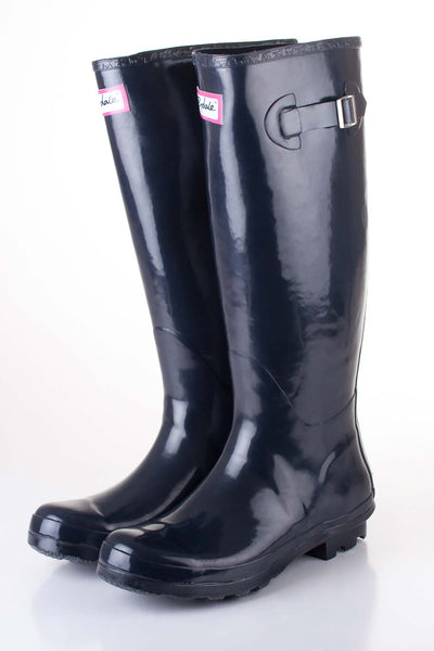 Navy - Ladies Blue Ripon wellies
