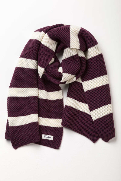 Berry - Ladies Rosie Hooped Scarf