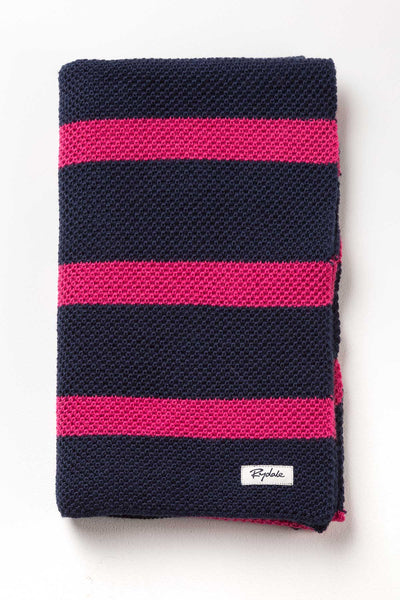 Navy - Ladies Rosie Hooped Scarf