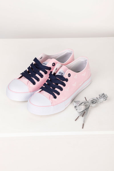 Sorbet - Roxby II Canvas Trainers