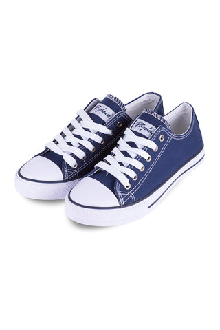 Roxby Canvas Trainers