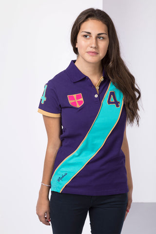 Royal Sash Polo Shirt