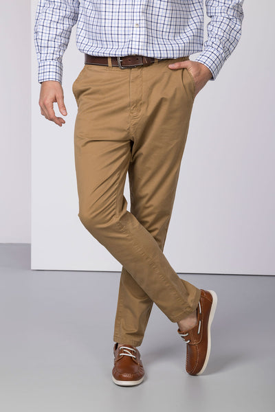 Sand - Rupert Mens Chino Trousers