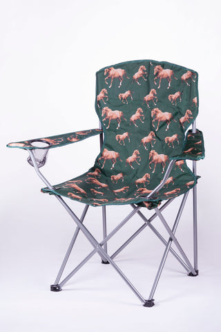 Horse - Rydale Patterned Camping Chair