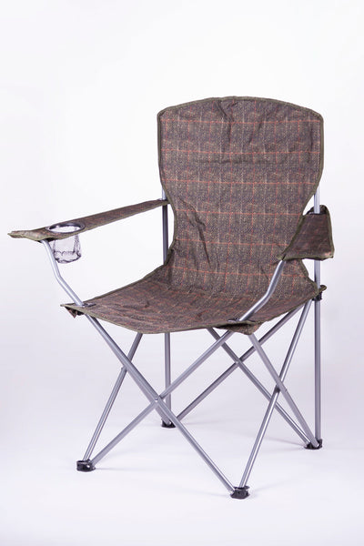 Tweed - Rydale Patterned Camping Chair