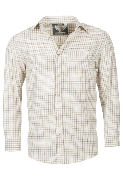 Hovingham Sand - Gentlemans Check Shirt