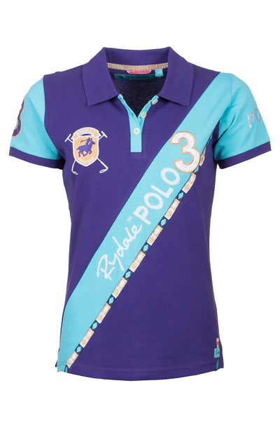 Grape - Sash Design Polo Shirt